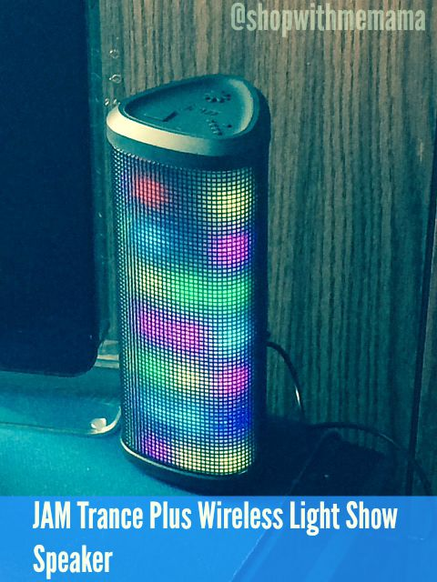 JAM Trance Plus Wireless Light Show Speaker