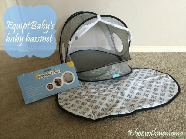 EquiptBaby's baby bassinet