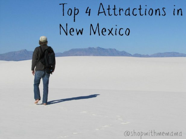 Top 4 Attractions in New Mexico