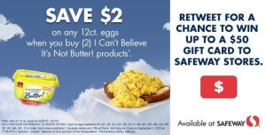 Save on Fluffy Eggs with Safeway & I Can't Believe It's Not Butter! #FluffyEggs