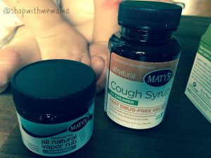 Maty's All Natural Cough Syrup for Children and Vapor Rub