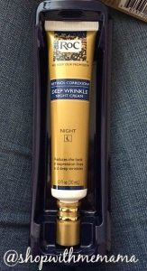 RoC® RETINOL CORREXION® Deep Wrinkle Night Cream #RoCRetinolResolution #IC