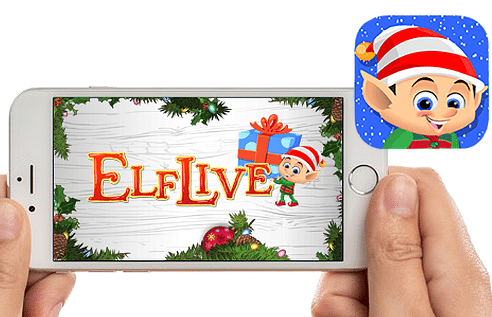 ElfLive Tell Santa What You Want For Christmas! #elfliveapp