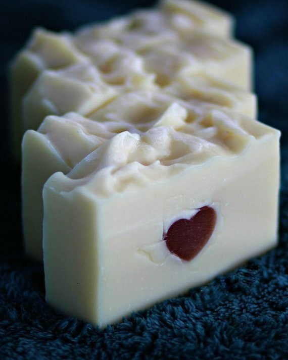 Valentine's Day Coconut Milk Soap