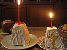 Traditional Easter Recipes from Around the World Paskha Cheese