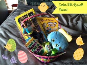 Creating An Easter Basket With Russell Stover Candy!