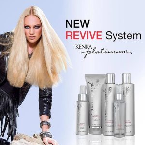 NEW Kenra Platinum Revive Hair Care System