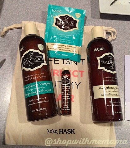 HASK Bamboo Oil collection