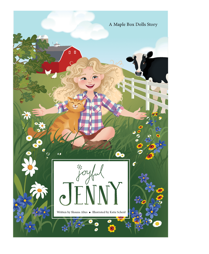 Joyful Jenny Maple Box Dolls Subscription Service