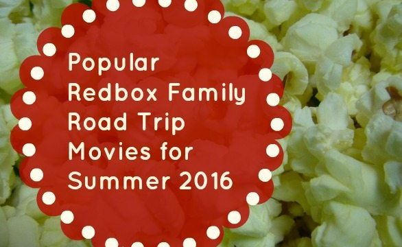 Popular Redbox Family Road Trip Movies for Summer 2016