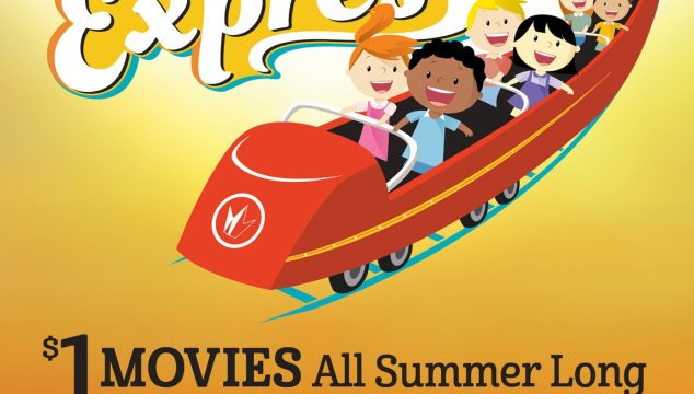 $1 Movies for 2016 Summer Movie Express!