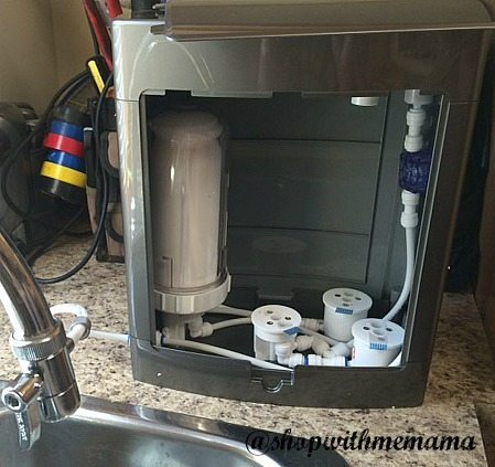 Pure Hydration System has four stages of purification