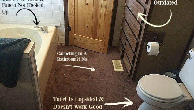 Remodeling My Master Bathroom Is No Easy Task!