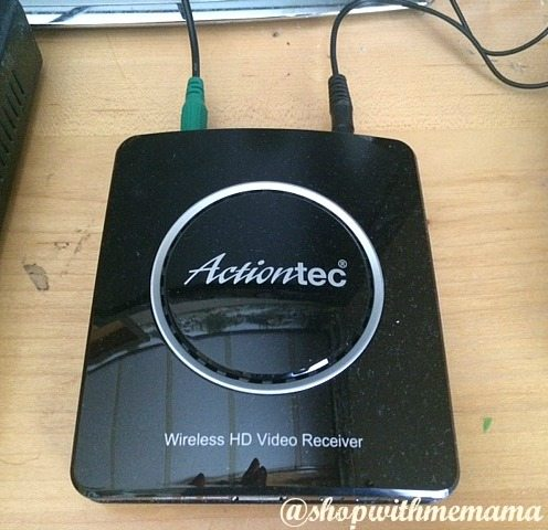 This Is How I Got Rid Of Wire Clutter Actiontec MyWireless TV2 Wireless Video Transmitter and Receiver
