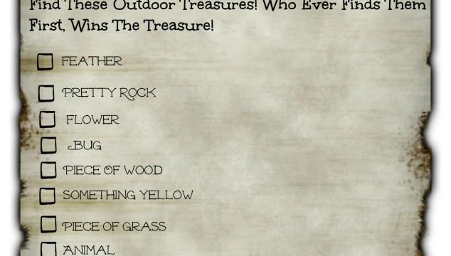 Pirate Treasure Hunt For Kids! (Free Printable)