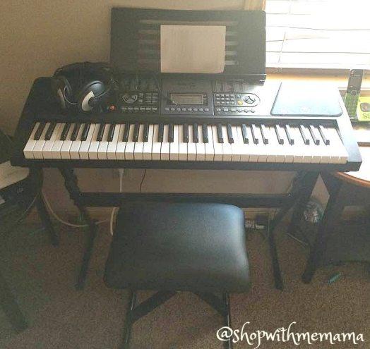 The RockJam Electronic Piano Keyboard