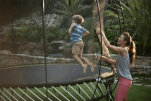 Trust the World's Safest Trampoline for Your Children