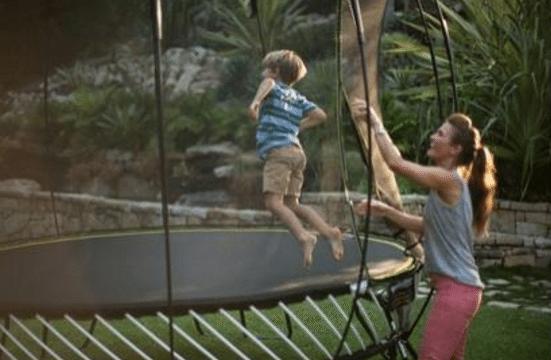 Trust the World's Safest Trampoline for Your Children