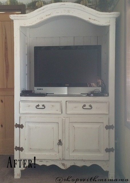 My Milk Paint Project Turned Out Beautiful! after pictures