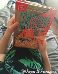 Check Out This New Adventurous Book By James Patterson! #TreasureHunters