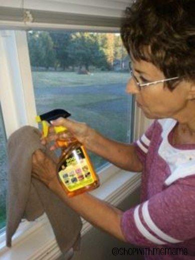 Clean Window Sills With Goo Gone Spray Gel