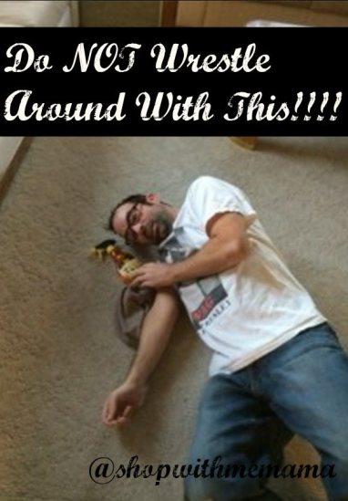 Do not wrestle around with Goo Gone Spray Gel!