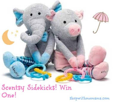 Scentsy Sidekicks Review and Giveaway