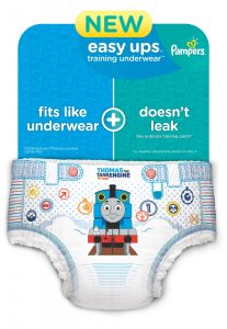 New And Improved Pampers Easy Ups Training Underwear