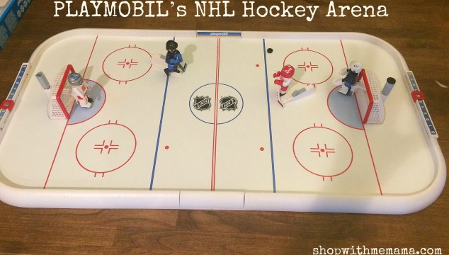 PLAYMOBIL's NHL Hockey Arena Makes A Perfect Gift For Sport Fans!