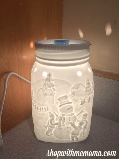 Scentsy's Holiday Collection Let It Snow Warmer