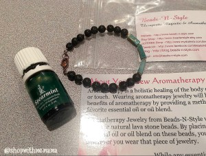 Aromatherapy Diffuser Bracelet With Essential Oils
