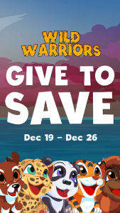 Give to Save Campaign for Mobile Game Saving Endangered Animals