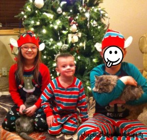 Matching Jammies For The Whole Family!