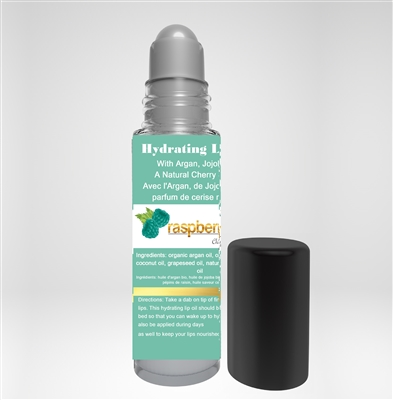 HYDRATING LIP OIL - WITH ARGAN, JOJOBA & A NATURAL CHERRY SCENT