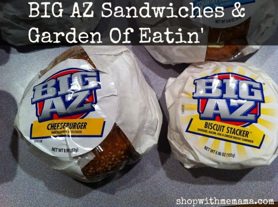 BIG AZ Sandwiches & Garden Of Eatin'