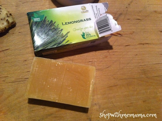 lemongrass handmade soap bar