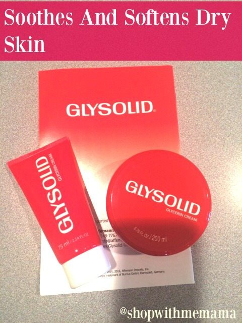 Glysolid Skin Cream Soothes And Softens Dry Skin