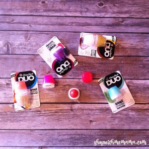 Create Your Favorite Flavor Combos With New Chapstick DUO!
