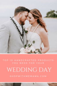 10 Unique Handcrafted Products You Need For Your Wedding Day (Giveaway)