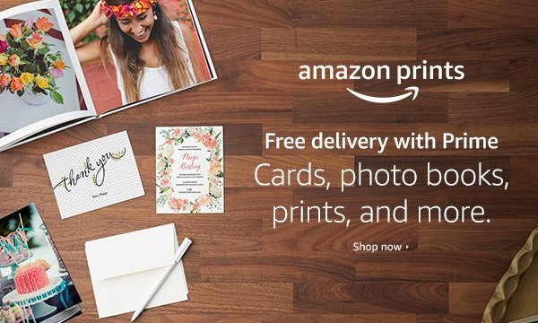 Where do I get my photos printed?  Amazon Prints. ($1000 of Amazon Gift Cards to be Won)