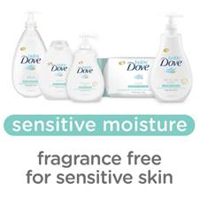 Using Baby Dove On My Child's Sensitive Skin