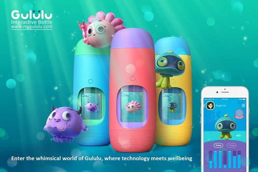 Keep your kids hydrated during summer with Gululu