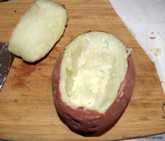 Stuffed Baked Potato With S&W Beans! Easy Meal Idea!