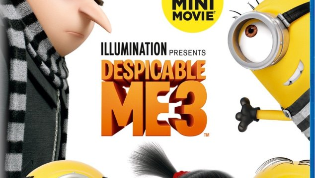 DESPICABLE ME 3 is now available on 4K Ultra HD™, Blu-ray™, DVD and On Demand