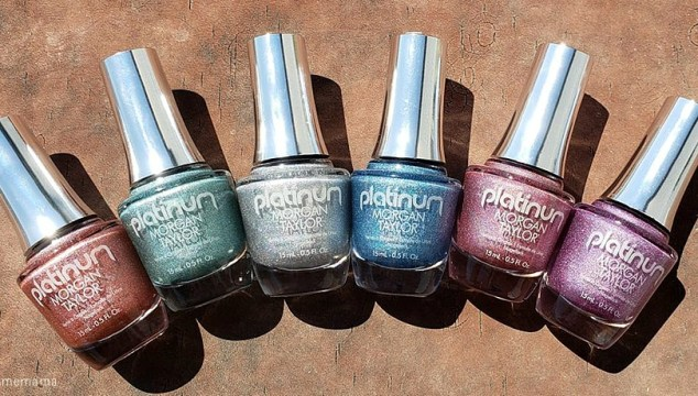 Beautifully Polished Nails With Morgan Taylor Lacquer Platinum Collection (Giveaway)