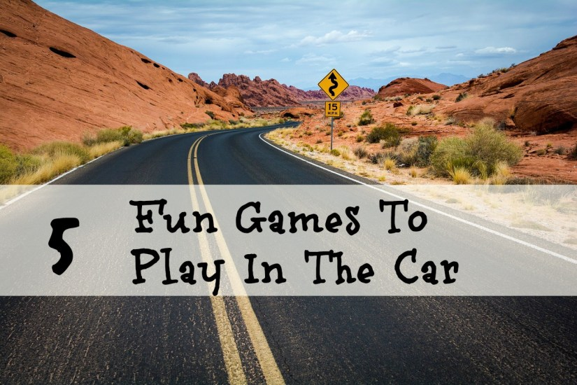 5 Fun Games To Play In The Car