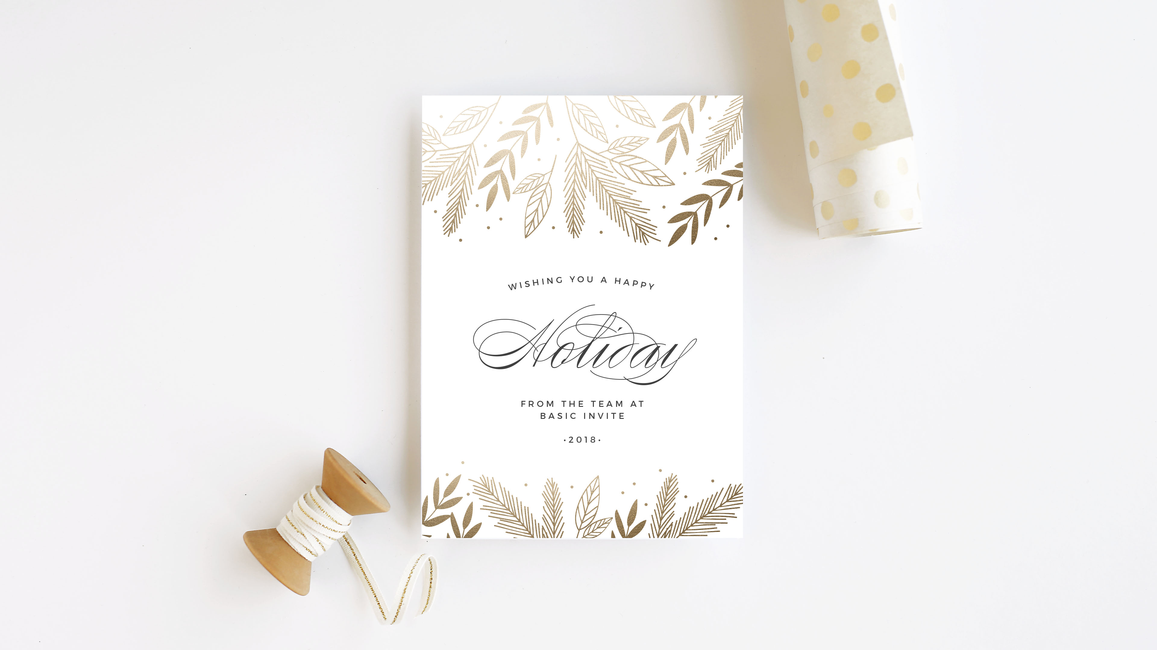 all text christmas cards