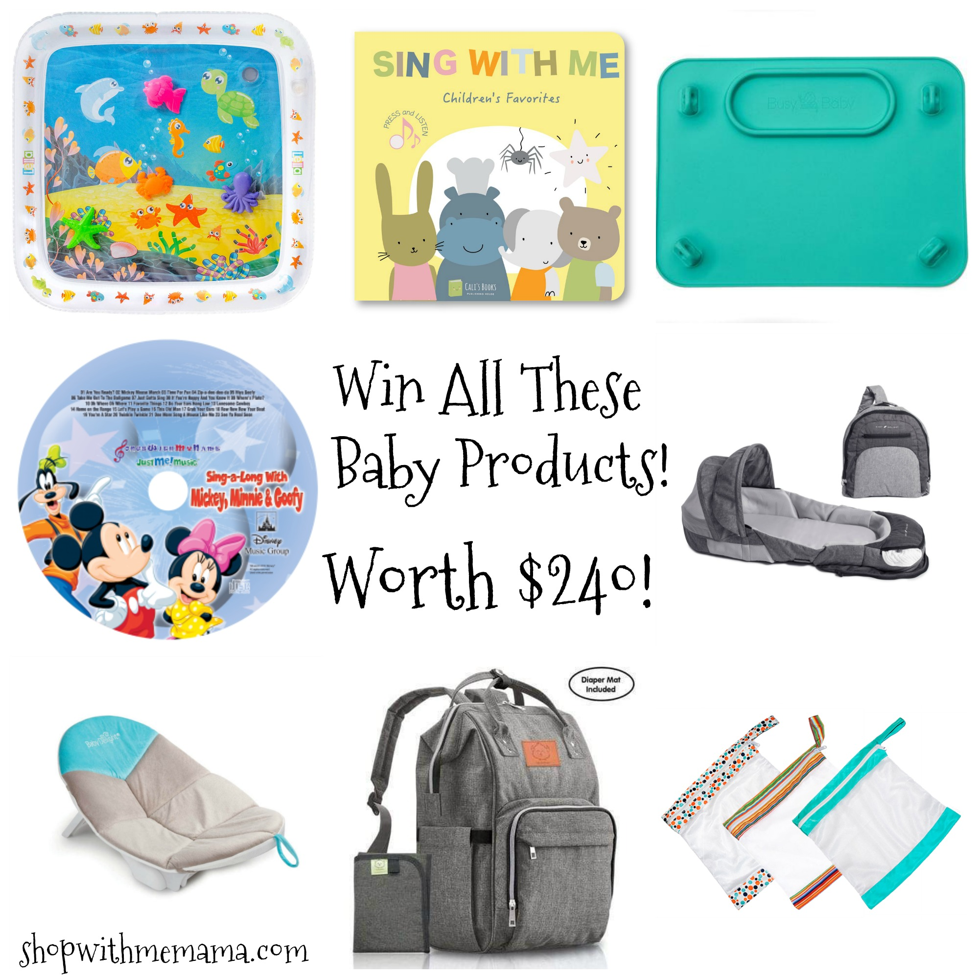 win baby products and toys