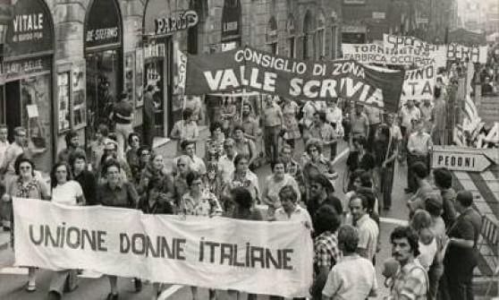 Manifestazione anni '70