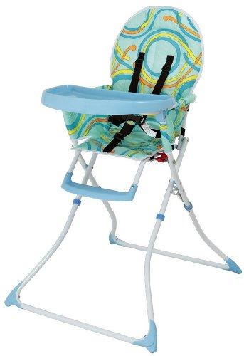 Kinderhochstuhl / Hochstuhl Modell A02 von UNITED-KIDS, diverse Farben, Farbe:Blau